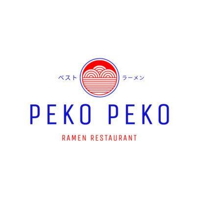 Japanese Restaurant Logo Maker with Ramen Icon 1822