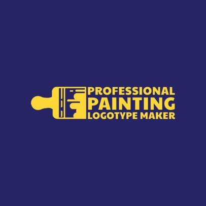 Painting Pro Logo Design Template 1436a