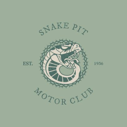 Logo Maker for a Biker Club or Bar 1765b