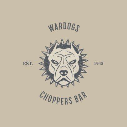 Logo Maker for a Chopper Bar 1765d