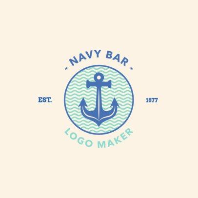 Logo Maker for a Beach Bar 1758a