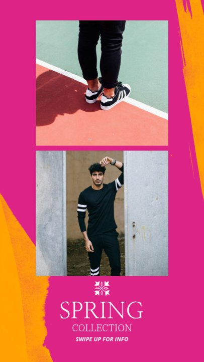 Bright Instagram Story Template 963d