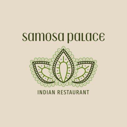 Classic Logo Maker for an Indian Restaurant 1829b