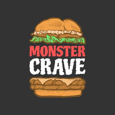 Burger Logo Maker with Burger Graphics 1233d