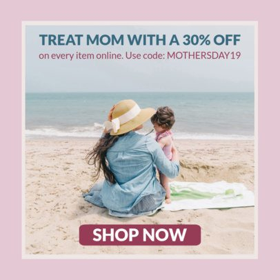 Banner Generator for a Mother's Day Special Sale 16644f