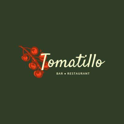 Minimalistic Logo Generator for a Spanish Restaurant 1917d