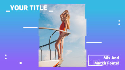 Slideshow Maker for a Fashion Video with Wavy Figure Animations 1263a1177