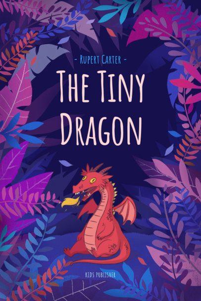 Funny Fantasy Book Cover Design Template 541d