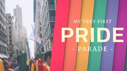 Thumbnail Design Template for an LGBT Pride Video 1299c