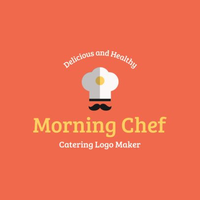 Minimalistic Logo Maker for a Catering Company 1924f