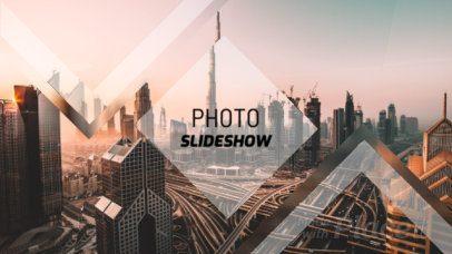Dynamic Photo Slideshow Video Maker with Minimal Geometric Transitions 1316