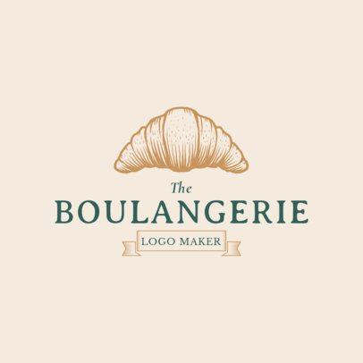 Boulangerie Logo Maker with Bakery Graphics 1113c