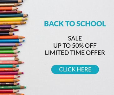 Banner Template for a Back-To-School Season Sale 635g