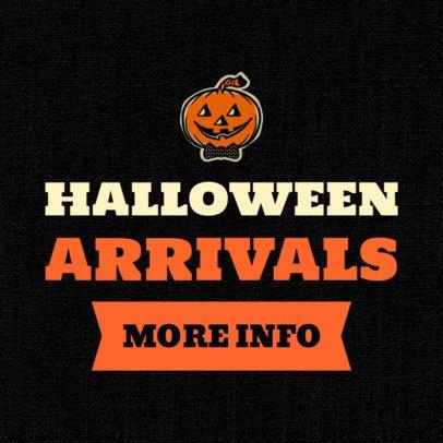 Banner Generator for New Halloween Arrivals 755k