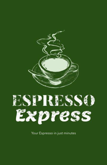 Online Flyer Maker for Espresso Bars 390e-1903