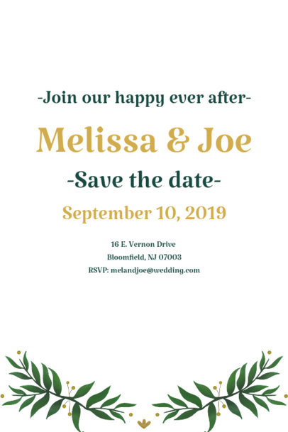 Invitation Card Maker for a Wedding 1685c