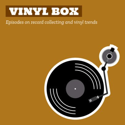 Podcast Cover Maker for Vinyl Enthusiasts 1720c