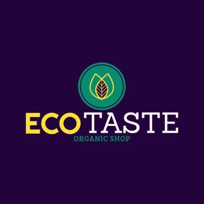 Organic Shop Logo Template 1190f--2461