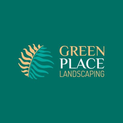 Logo Maker for a Landscaping Company 1435g-2462