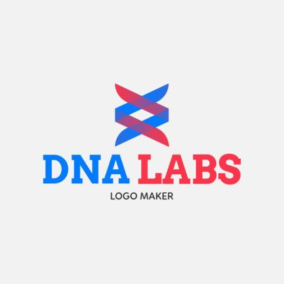 Clinical Laboratory Logo Template With an Abstract Style 1049g-2463