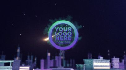 Gaming Intro Maker for a Logo Reveal With a Battle Royale Theme 1830