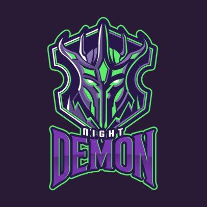 Gaming Logo Maker with a Mobile Legends-Inspired Creature Illustration 2455v