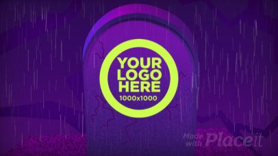 Logo Reveal Intro Maker with Animated Gravestones 1919