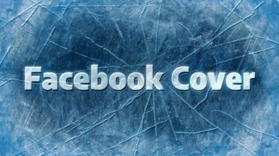 Facebook Cover Video Maker with Icy Animations 1939