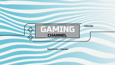 YouTube Banner Template for Gamers 50d--1762