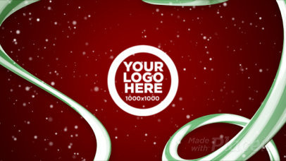 Christmas-Themed Intro Maker Featuring Text and Logo Animations 1953