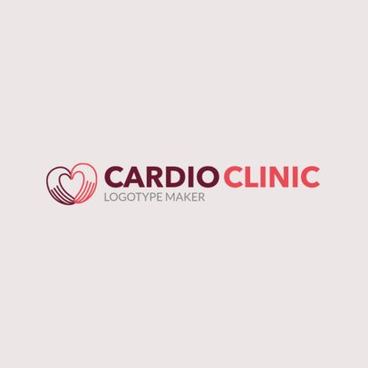 Online Logo Maker for a Cardiac Care Clinic 2509