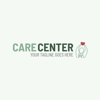 Logo Template for a Heart Care Center 2509d