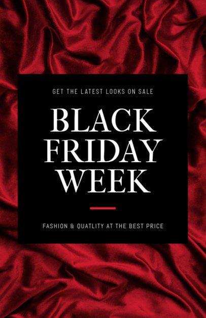 Black Friday Flyer Maker for a Fashion Sale 238g 1785a