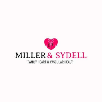 Logo Maker for a Vascular Healthcare Center 2508e