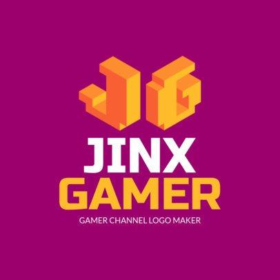 Monogram Logo Creator for an Intense Gaming Channel 2554e