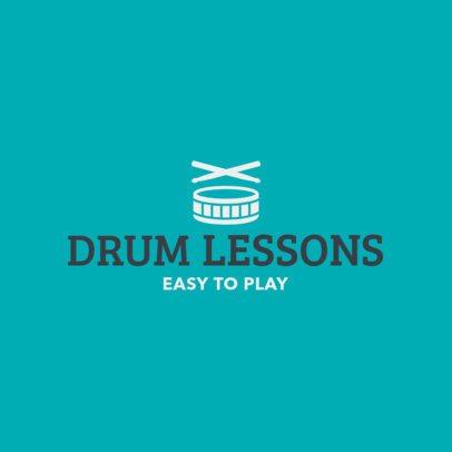 Minimal Logo Maker for Music Teachers 1308e 5-el