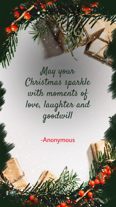 Christmas Quote Instagram Story Maker 995g 1824