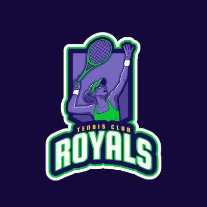 Logo Maker for a Women's Tennis Club 1600i-2601