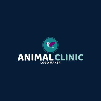 Online Logo Maker for a Veterinary Clinic 1147f-13-el