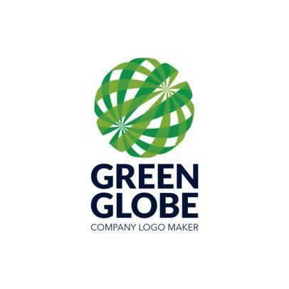 Company Logo Maker with a Spheric Shape Illustration 1519k-2585