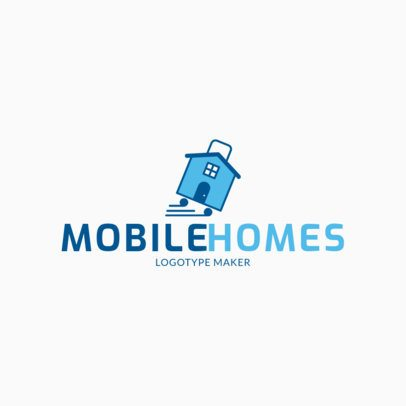 Logo Generator for Mobile House Contractors 2630b