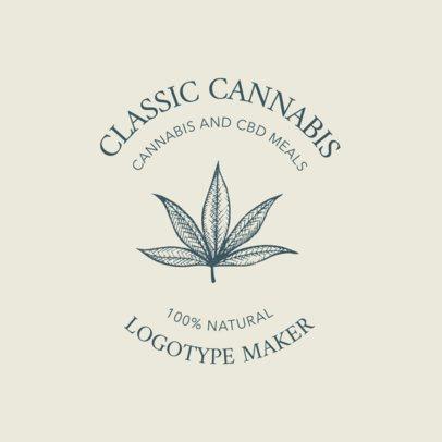 Logo Template for a Cannabis Edibles Brand 2647