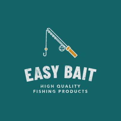 Fishing Equipment Store Logo Maker  1794g 95-el