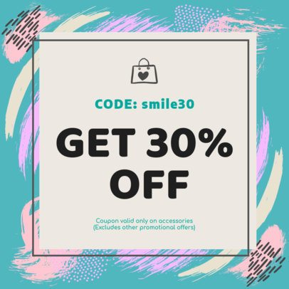 Coupon Design Template for Special Promos 1007f 72-el