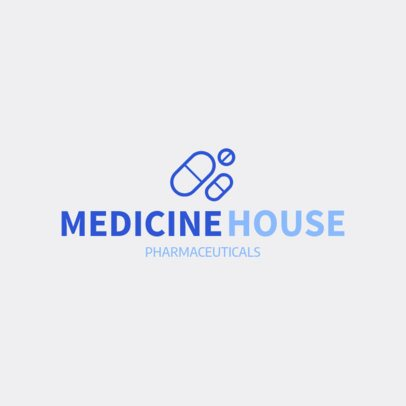 Pharmaceutical Logo Maker Featuring Medicine Graphics 1157g 79-el