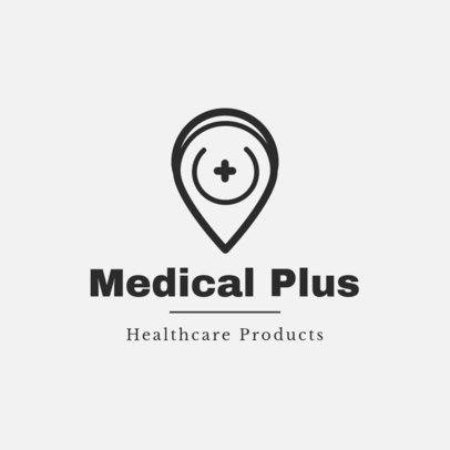 Healthcare Products Logo Template for Medical Companies 1857f 79-el
