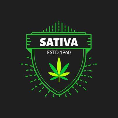 Cannabis Logo Maker 161-el1