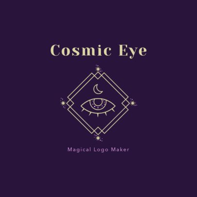 Magical Logo Maker featuring a Cosmic Eye 2662g