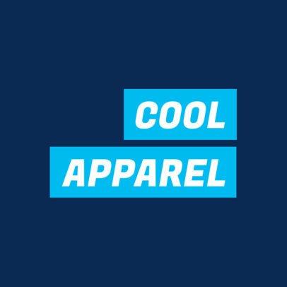 Minimalistic Logo Generator for an Urban Clothing Brand 2721b