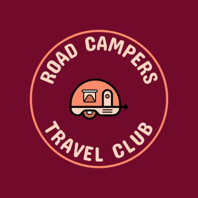 Logo Maker for a Travel Club 56g 115-el